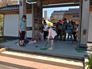 藤子Ⓐワールドまつり2013 プロゴルファー猿「旗つつみ」チャレンジ