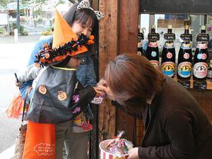 おさんぽハロウィン at 本川藤由商店