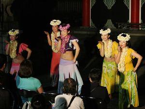 潮風フェスタ2016 ナ・レイ・プアラニ・フラスタジオ フラダンスショー