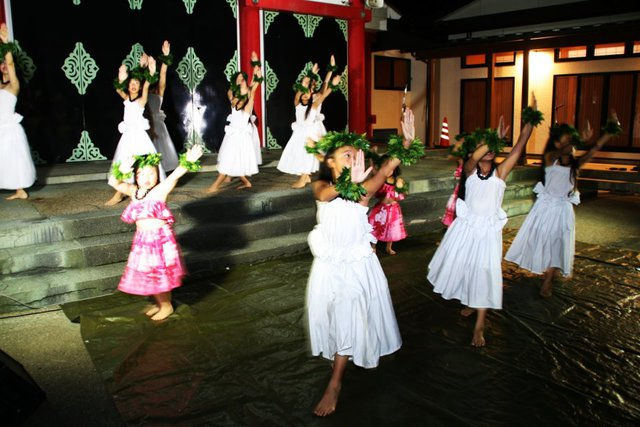 潮風フェスタ2019 フラダンスショー